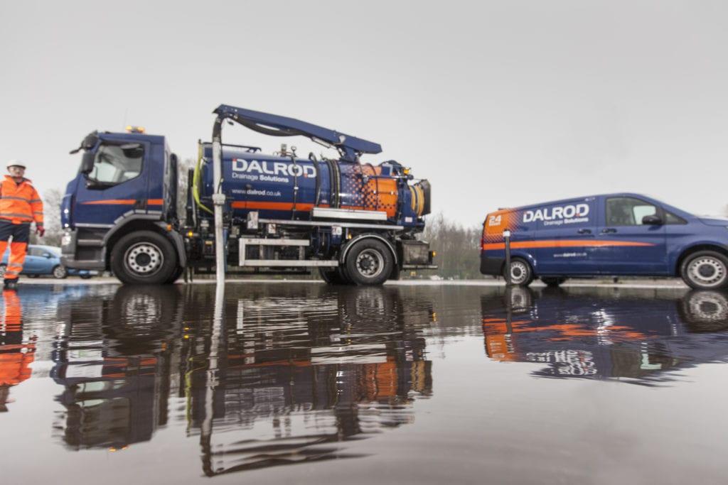 DALROD flood solution pumping tanker